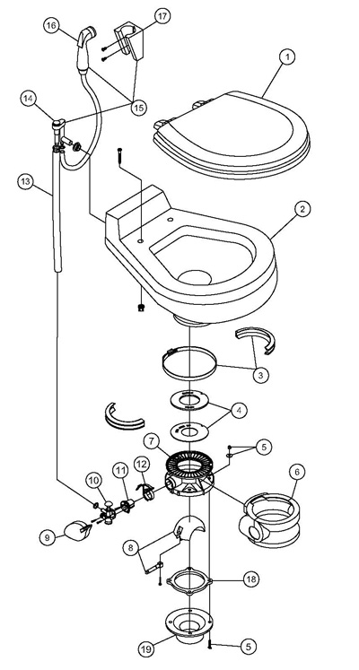 Traveler Toilet Parts 511 511 911 And 2011