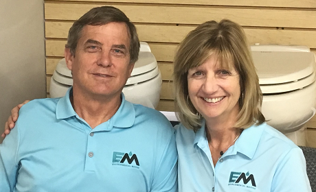 Tim and Mary- Owners Environmental Marine